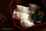 春菓子 花びら餅    (料理・お弁当):季節の風を感じながら・・・の画像(5枚目)