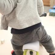 「はじめての乗り物、D Bike ミニ。」【投稿募集!】のりもの遊びをしている自慢のベストショットを募集!の投稿画像