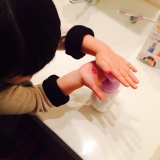手洗い練習スタンプ おててポンの画像(7枚目)