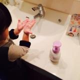 手洗い練習スタンプ おててポンの画像(12枚目)