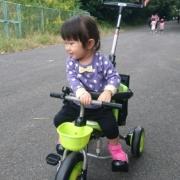 「三輪車だーい好き」【投稿募集!】のりもの遊びをしている自慢のベストショットを募集!の投稿画像
