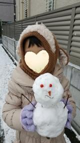 「☆☆お土産は雪だるま☆☆」の画像(3枚目)