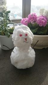 「☆☆お土産は雪だるま☆☆」の画像(1枚目)