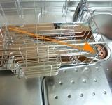 「【自動的に排水され、キッチンスペースも確保】株式会社TWINSさまより;斜めに流れる1段水切りカゴ(スリム 左置用)◆モニター参加」の画像(10枚目)