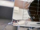 「作業スペース広々!斜めに流れる1段水切りスリム 右置用♪」の画像(12枚目)