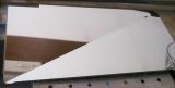 「作業スペース広々!斜めに流れる1段水切りスリム 右置用♪」の画像(3枚目)