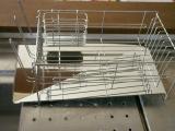 「作業スペース広々!斜めに流れる1段水切りスリム 右置用♪」の画像(13枚目)