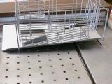 「作業スペース広々!斜めに流れる1段水切りスリム 右置用♪」の画像(4枚目)