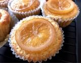 「   30分で簡単お菓子作り☆蜂蜜レモンマフィン、みかんビスケット 」の画像(1枚目)