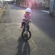 「お気に入りの自転車!」【投稿募集!】のりもの遊びをしている自慢のベストショットを募集!の投稿画像