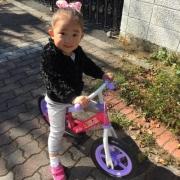 「初めての自転車」【投稿募集!】のりもの遊びをしている自慢のベストショットを募集!の投稿画像