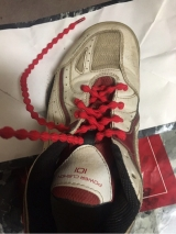 「   キャタピーアスリートで楽チン靴紐管理 」の画像(4枚目)