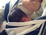 「1m18d:ギャン泣き対策に!スーパー抱っこ紐「ベビーケターン」」の画像(2枚目)