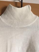 「着てみました♡ur's(ユアーズ)のイレギュラーヘムタートルニットプルオーバー #ユアーズ」の画像(7枚目)