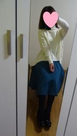 「着てみました♡ur's(ユアーズ)のイレギュラーヘムタートルニットプルオーバー #ユアーズ」の画像(1枚目)