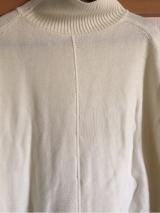 「着てみました♡ur's(ユアーズ)のイレギュラーヘムタートルニットプルオーバー #ユアーズ」の画像(11枚目)