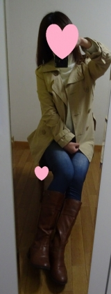 「着てみました♡ur's(ユアーズ)のイレギュラーヘムタートルニットプルオーバー #ユアーズ」の画像(16枚目)