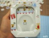 「☆ ブランド洋食器専門店 ル・ノーブル(Le-noble)さん 選べるアソートポーセラーツレッスン  子供へ 写真立てを作りました!」の画像(4枚目)