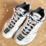 「結ばない靴ひも♡︎ʾʾ」の画像(1枚目)