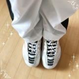 「結ばない靴ひも♡︎ʾʾ」の画像(3枚目)