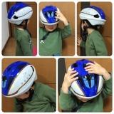 「キッズヘルメットS新幹線E7系かがやき」の画像(9枚目)