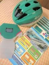 「子供の自転車の練習に♡キッズヘルメットS 新幹線E5系はやぶさ」の画像(4枚目)