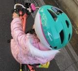 「子供の自転車の練習に♡キッズヘルメットS 新幹線E5系はやぶさ」の画像(9枚目)