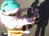 「子供の自転車の練習に♡キッズヘルメットS 新幹線E5系はやぶさ」の画像(11枚目)