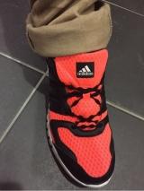 「(感想)キゃタピラン 結ばない靴紐 左右非対称カラーセット」の画像(5枚目)