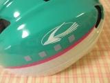 「子供の自転車の練習に♡キッズヘルメットS 新幹線E5系はやぶさ」の画像(3枚目)