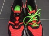 「(感想)キゃタピラン 結ばない靴紐 左右非対称カラーセット」の画像(6枚目)