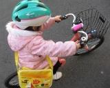 「子供の自転車の練習に♡キッズヘルメットS 新幹線E5系はやぶさ」の画像(1枚目)