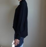 「   [着画] 座談会で大活躍!titivate☆UR'S イレギュラーヘムタートルニットプルオーバー 」の画像(5枚目)