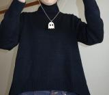 「   [着画] 座談会で大活躍!titivate☆UR'S イレギュラーヘムタートルニットプルオーバー 」の画像(8枚目)