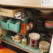 「食器棚のない家での収納」あなたのキッチン収納、レイアウト術募集!★3名様豪華キッチン賞品プレゼント!の投稿画像