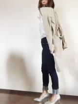 「夢展望のシルバーラメパンプスで春ファッション♡|サキママのあれこれ」の画像(4枚目)