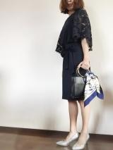 「夢展望のシルバーラメパンプスで春ファッション♡|サキママのあれこれ」の画像(6枚目)