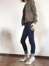 「夢展望のシルバーラメパンプスで春ファッション♡|サキママのあれこれ」の画像(3枚目)