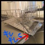 「   狭いキッチンにグッドな水切りスリム。 」の画像(5枚目)