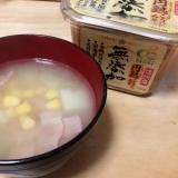 手作り味噌汁