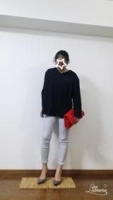 「【モニター】夢展望 激ストレッチ美脚スキ二ーパンツ」の画像(7枚目)