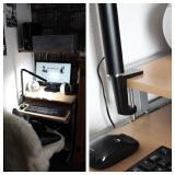 「★★★ リビングのパソコンコーナーにLEDデスクライトをつけてみました ★★★」の画像(4枚目)