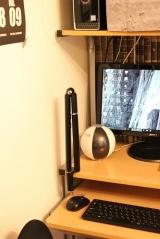 「★★★ リビングのパソコンコーナーにLEDデスクライトをつけてみました ★★★」の画像(10枚目)