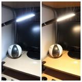 「★★★ リビングのパソコンコーナーにLEDデスクライトをつけてみました ★★★」の画像(6枚目)