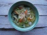 「   麺とスープと具材をお鍋に入れて煮込むだけ!?本格冷凍野菜タンメン♪ 」の画像(1枚目)
