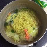「シマダヤ「野菜タンメン」は鍋1つで国産野菜たっぷり~~!!」の画像(4枚目)