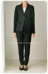 ◆着画レポ◆自宅で洗える!「夢展望」のストレッチアンクル丈パンツスーツの画像(16枚目)