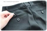 ◆着画レポ◆自宅で洗える!「夢展望」のストレッチアンクル丈パンツスーツの画像(14枚目)