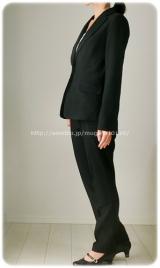 ◆着画レポ◆自宅で洗える!「夢展望」のストレッチアンクル丈パンツスーツの画像(17枚目)