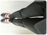 ◆着画レポ◆自宅で洗える!「夢展望」のストレッチアンクル丈パンツスーツの画像(19枚目)